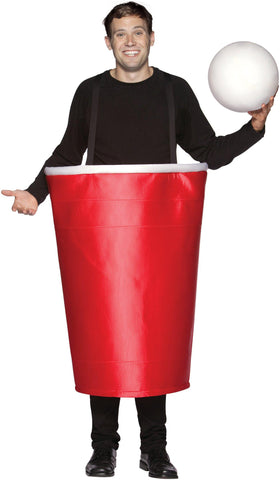 Beer Pong Cup Adult Costume