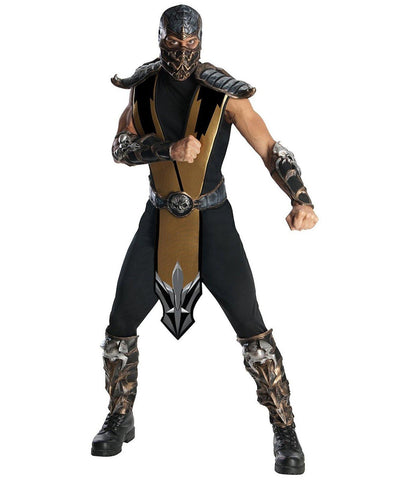 Mortal Kombat - Scorpion Deluxe Adult Costume