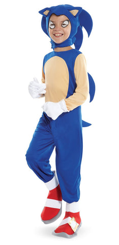 Sonic the Hedgehog - Sonic Child Costume