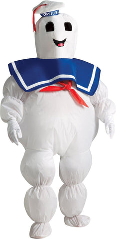 Ghostbusters - Stay Puft Marshmallow Man Inflatable Child Costume