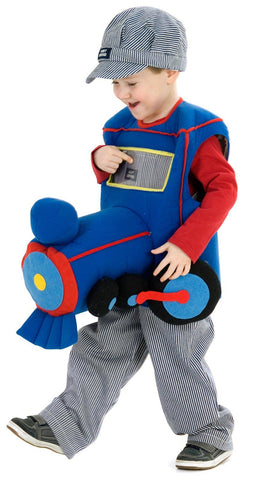 Plush Ride-In Train Toddler Costume