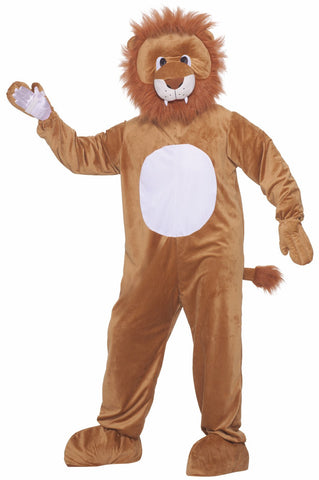 Leo the Lion Plush Adult Costume