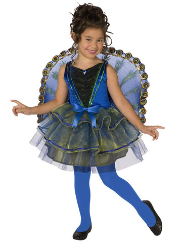 Pretty Peacock Child Costume