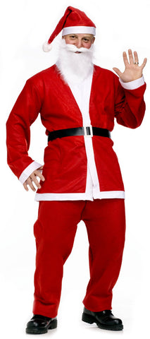 Pub Crawl Santa Suit Adult Costume