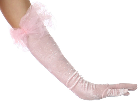 Pink Princess Gloves (Child)