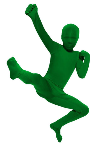 Green Skin Suit Child Costume