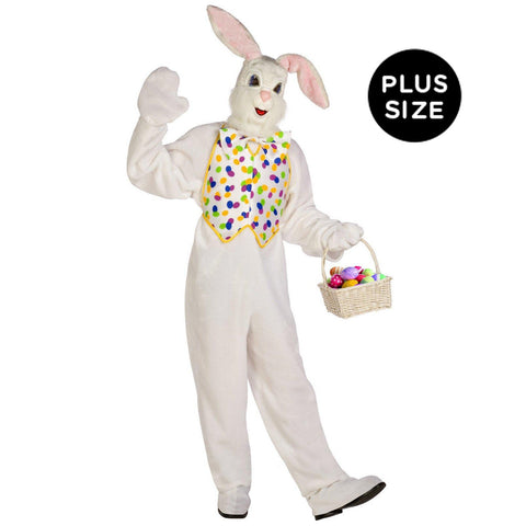 Deluxe Easter Bunny Adult Plus Costume