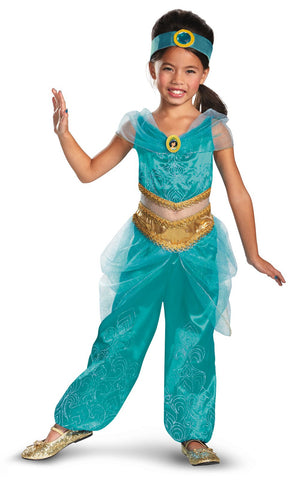 Disney Jasmine Deluxe Sparkle Toddler/Child Costume