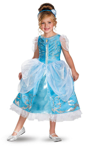 Disney Cinderella Deluxe Sparkle Toddler/Child Costume