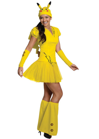 Pokemon Pikachu Adult Costume