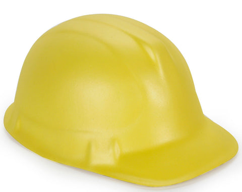 Yellow Foam Construction Hat