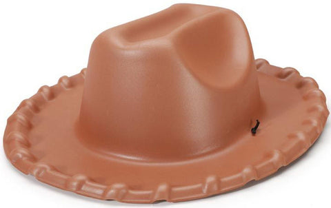 Foam Cowboy Hat Brown