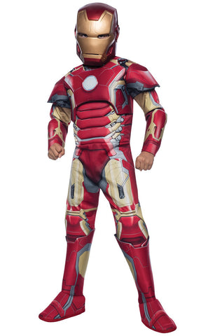 Avengers 2 Deluxe Iron Man Mark 43 Child Costume