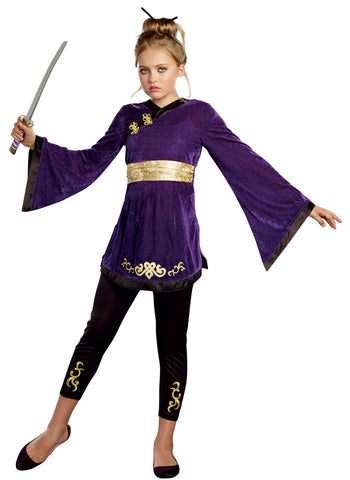 Lotus Warrior Tween Child Costume