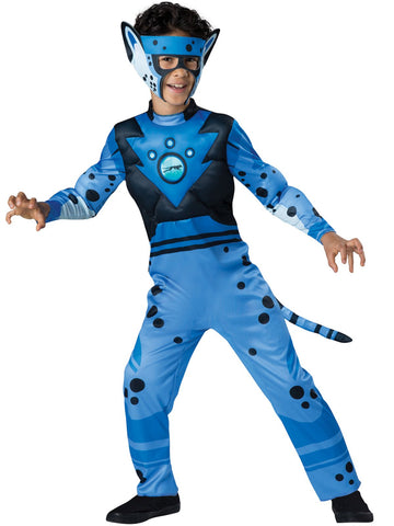 Wild Kratts Quality Cheetah Blue Child