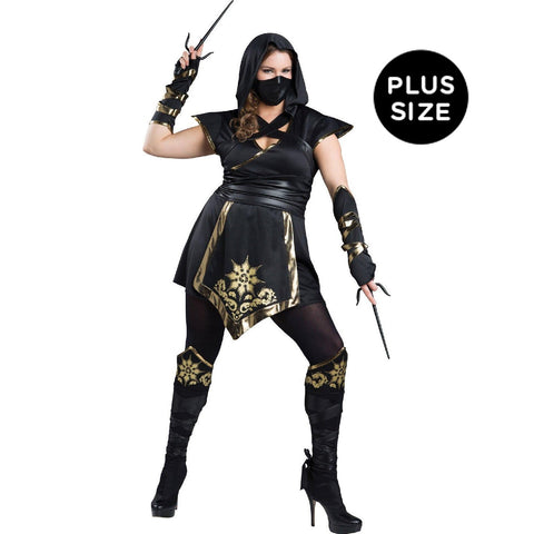 Female Ninja Elite -  Plus Costume