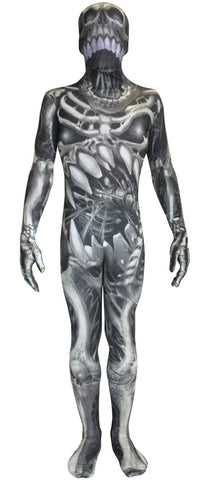 Monster Collection: Skull and Bones Morphsuit Child Costume