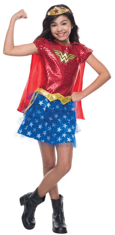 Wonder Woman Sequin Toddler Costume