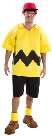Peanuts: Charlie Brown Deluxe Adult Costume