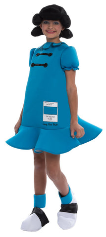 Peanuts: Lucy Deluxe Kids Costume