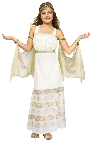 Golden Goddess Child Costume