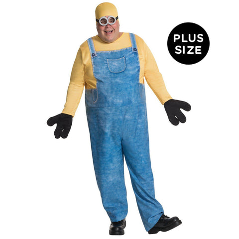 Minions Movie: Minion Bob Adult Costume Plus