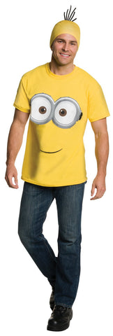 Minions Movie: Minion Adult Shirt & Headpiece