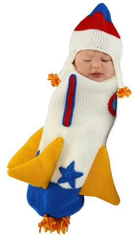 Roger the Rocket Ship Infant Bunting