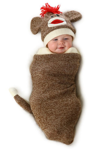 Marv the Monkey Infant Bunting Costume