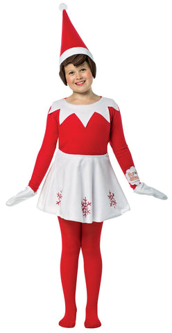 Elf on the Shelf Dress Child Costume One-Size