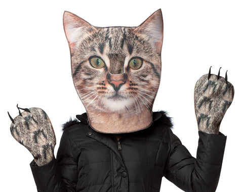 Cat Head & Paws Adult Costume One-Size