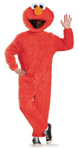 Sesame Street Elmo Plush Prestige Adult Costume XL