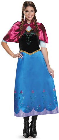 Frozen: Anna Traveling Gown Deluxe Adult Costume