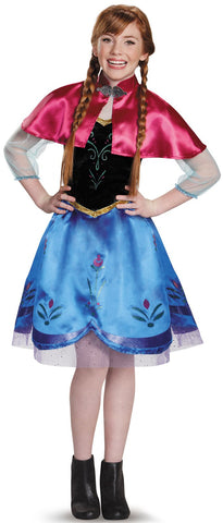 Frozen: Anna Traveling Gown Tween Costume