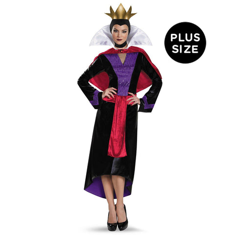 Disney Evil Queen Deluxe Adult Costume Plus