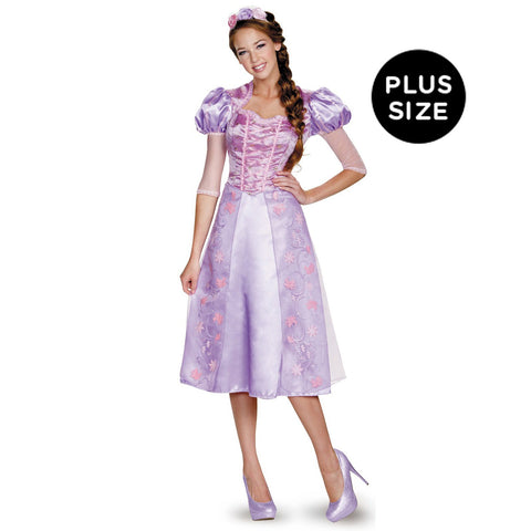 Disney Princess Rapunzel Deluxe Adult Costume Plus