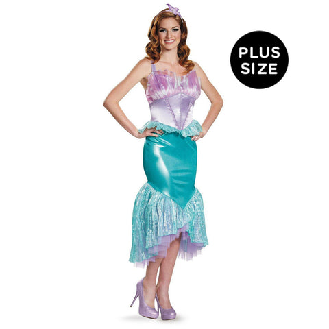 Disney Princess Ariel Deluxe Adult Costume Plus