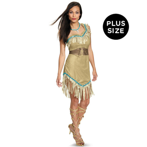 Disney Princess Pocahontas Deluxe Adult Costume Plus
