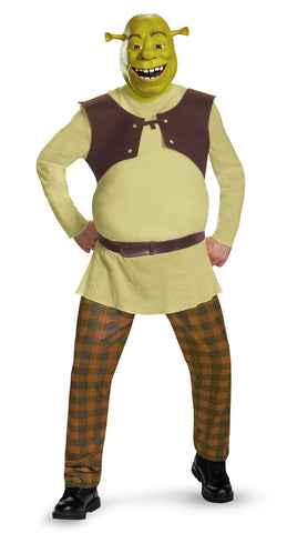 Shrek Deluxe Adult Costume Plus