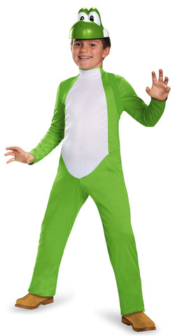 Super Mario Bros: Yoshi Deluxe Child Costume