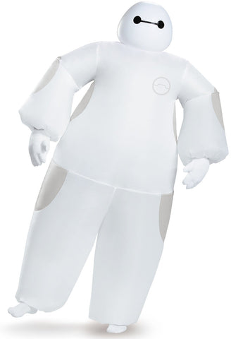 Big Hero 6: White Baymax Inflatable Adult Costume