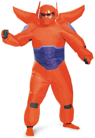 Big Hero 6: Red Baymax Inflatable Adult Costume