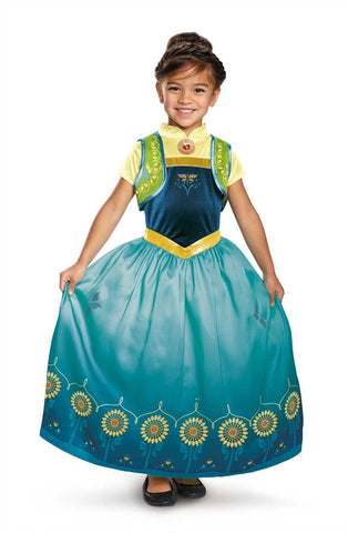 Anna Frozen Fever Deluxe Child Costume