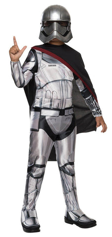 Star Wars Episode VII - Girls Captain Phasma Classic Costume