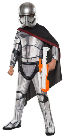 Star Wars Episode VII - Girls Captain Phasma Super Deluxe Costume