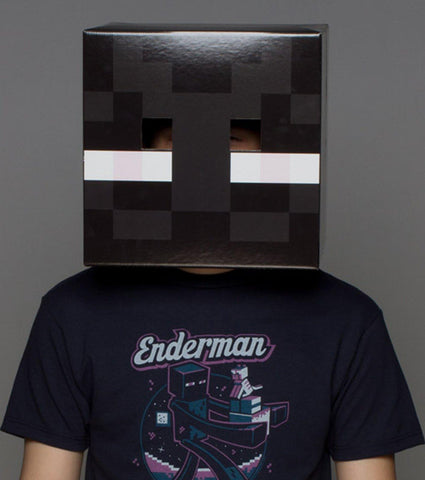 Minecraft Enderman Adult Head