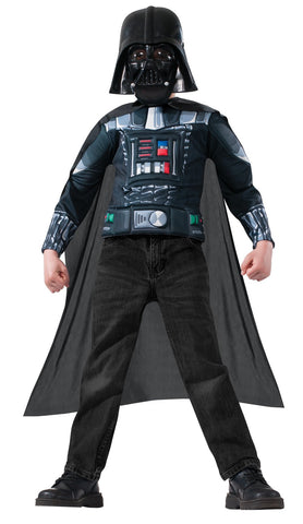 Star Wars Darth Vader Kids Muscle Chest Shirt Kit