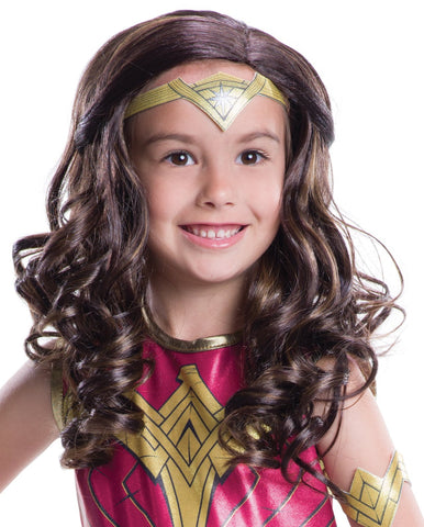 Batman v Superman: Dawn of Justice - Kids Wonder Woman Wig