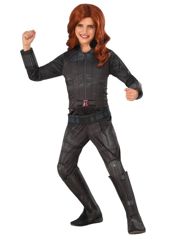Marvel's Captain America: Civil War Deluxe Girls Black Widow Costume