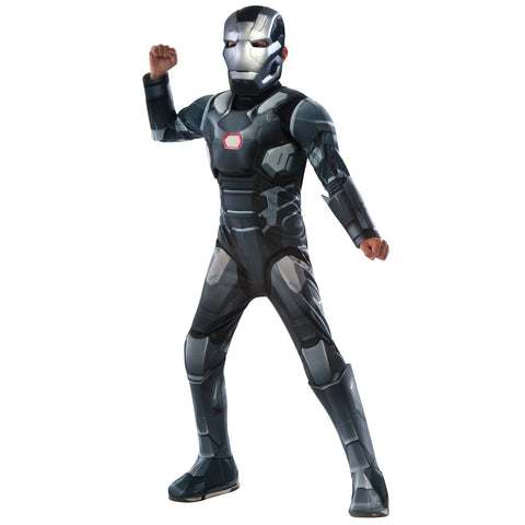 Marvel's Captain America: Civil War Kids Deluxe War Machine Muscle Chest Costume